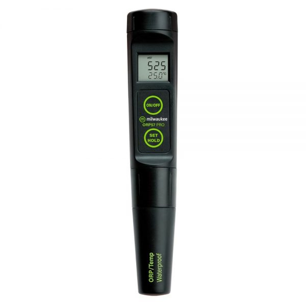 ORP meter with replaceable ORP electrode
